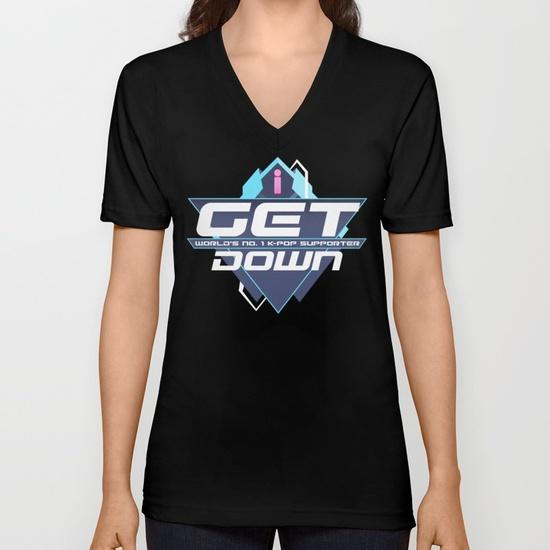 i-get-down-vneck-tshirts