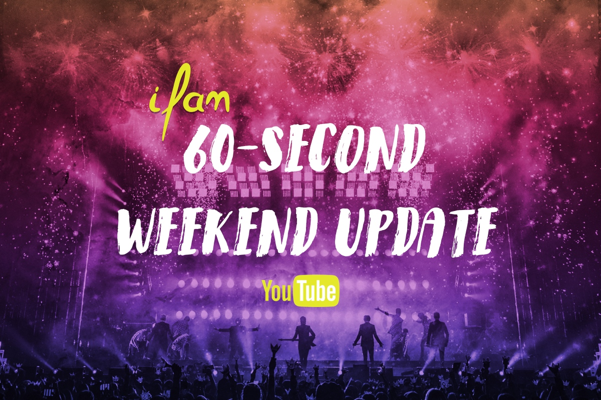 60-Sec Weekend Update: DIA comeback promotion takes a scary turn and more